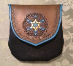 Arabic Style Leather Belt Pouch - gift by SonsOfPlunderLeather