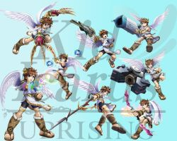 kid icarus uprising collage by 01jdog