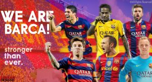 Fc Barcelona 2015 Wallpaper By Subhan Designs by subhan22