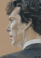 2015 Sherlock Over The Shoulder by Splunge4Me2Art