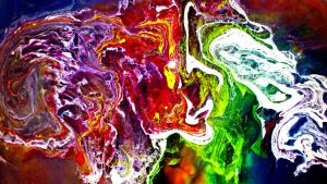 marbling inks 14 by GraceDoragon