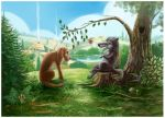 There lived a Dog by Araniart