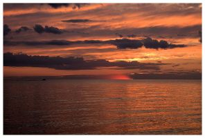 Sunset on Lake Manitoba by dove-51