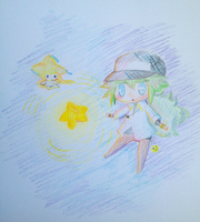 n and jirachi by nkein
