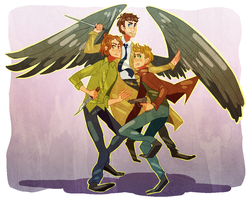 team free will by Sora-la