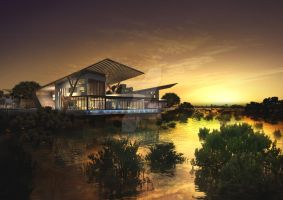 Abu Dhabi Luxury Villa type A by tar-ik78