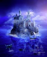 Castle over Sea by JiaJenn31