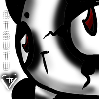 Otsutu the Evil panda bear. by Totoro-Feminine