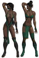 Mortal Kombat - Jade pack XNAlara by MKiss333
