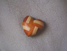 Wooden heart by Anere
