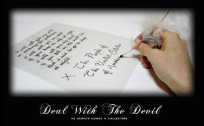 Deal With The Devil by FightTheAssimilation