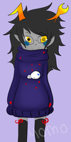Sweaterstuck Vriska by Momoiroai