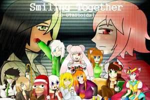 Christmas Project: 66 UTAUloids - Smiling Together by DarkBox-V2K