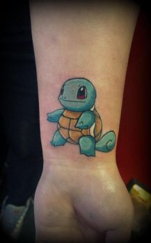 Squirtle tattoo by PoeticTragedy3