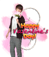 Happy Valentine's Day From Donghae by NileyJoyrus14