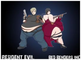 Leon and Ada by BedBendersInc