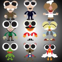 Muppet Cuties Series 3 by Gr8Gonzo