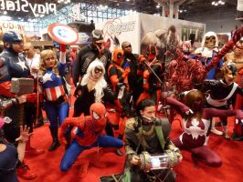 A gathering of Marvels by nx20