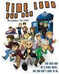 Doctor Who - Time Lord Fun Run Design by ExiledChaos