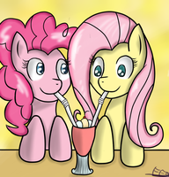 Friendship Drink. by FreeFraQ