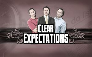 Clear Expectations Title Graphic by graph-man