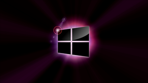 Windows 8 Wallpaper - Purple Flare by Fuller1754