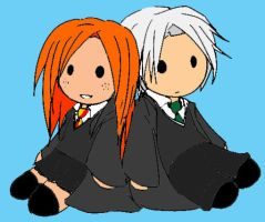 Draco and Ginny by amethystsmile870