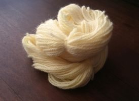100% Pure Wool Yarn: Buttercream by The-love-of-Crochet