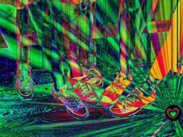 Color Your Shoes by audreyhepburnluv97