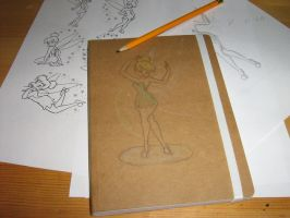 Tinkerbell Notebook by VPofFantasyland
