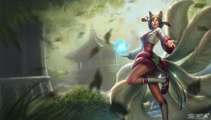 LoL - Hanbok Ahri by Knockwurst