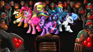 My Little Pony: Rise of the Clockwork Stallions by DragonGirl983