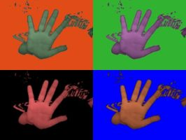 Hand of Different Colors by princesslillymono