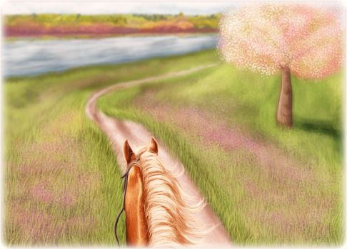 Midday Ride by ChellytheBean
