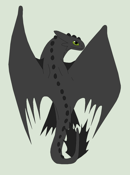 HTTYD Base 111~Nightfury 67~ by Xbox-DS-Gameboy
