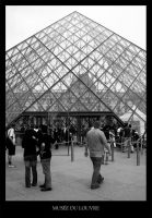 Musee du Louvre by 3-Designs