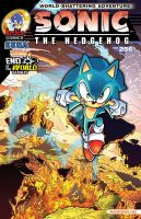 Sonic #256 Variant Cover C by DustinEvans