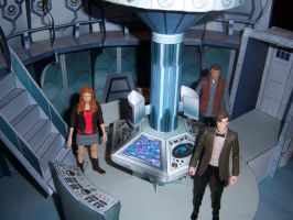 2013 Control Room Set - Doctor and Crew by MisterBill82