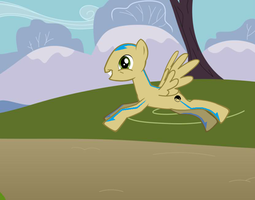 Aang the Ponytar by Ponyloid