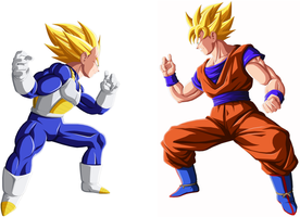 Goku vs Vegeta Last Last prev. by drozdoo
