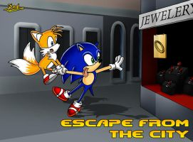 Escape from the city by Feinobi