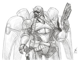 Terran Reaper _ StarCraft II by oxoxoxo