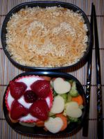 Peanut Noodle Bento by Scarletts-Fever