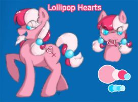 Lollipop Hearts by Radioactive-K