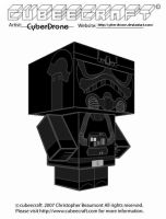 Cubeecraft - Tie-Fighter Pilot by CyberDrone