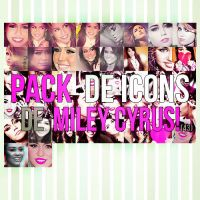 Pack de icons de Miley Cyrus by DulceEditions