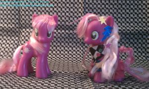 Custom Cheerilees by TwilightFlopple