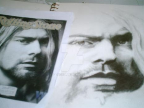 almost done with , but kurt by amberm