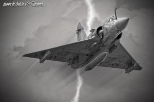 Lightning by Cigognes