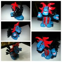 Pokemon Hydreigon figurine by MadHouseTrinkets